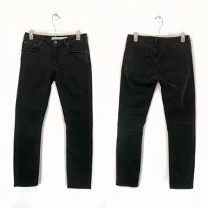 & Other Stories | Black Straight Leg Jeans | 27